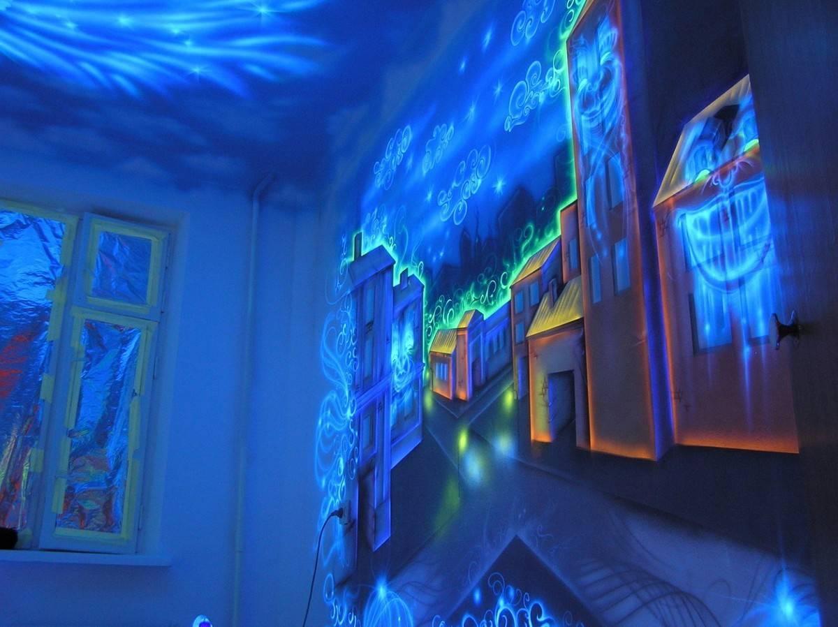 Особенности и применение флуоресцентной краски